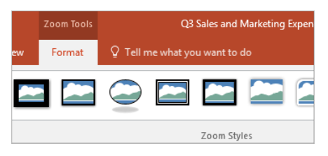 Section Zoom – Change Your Current Preview Image