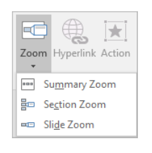 PowerPoint – Summary Zoom